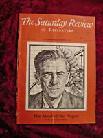 SATURDAY REVIEW Magazine September 1 1945 Arthur Koestler Saxe Commins