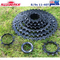 8/9 Speed 11-40T MTB Bike Cassette Cassettes Chain Cogs Fit Shimano SRAM KMC
