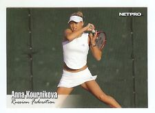 (26) ANNA KOURNIKOVA 2003 NetPro Tennis ROOKIE Card RC LOT