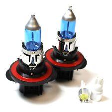 Jeep Compass 55w Super White Xenon HID Low Dip/Slux LED Side Light Bulbs Set
