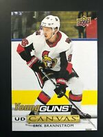 2019-20 Upper Deck Erik Brannstrom Young Guns Canvas Rookie