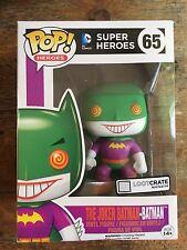 DC Pop Figures - The Joker Batman #65  - (Loot Crate Exclusive) - New