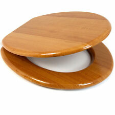 wooden d shaped toilet seat. Wooden MDF Toilet Seat With Zinc Alloy Hinges Including Fittings  Scallop D Shaped Seats EBay