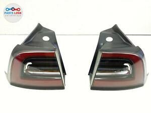 17-20 TESLA MODEL 3 US RIGHT AND LEFT QUARTER TAILLIGHT TURN BRAKE STOP LAMP SET