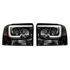 Recon 264193BKC Projector Headlights For Ford Superduty 05-07 F250/F350/F450 NEW