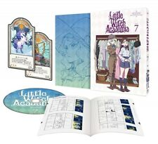 New Little Witch Academia Vol.7 First Limited Edition DVD Making Book Card Japan