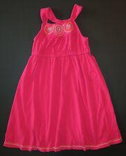 Gymboree girl Batik summer tropical safari spring pink embroidered tank dress 12
