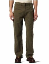 Carhartt Men's Washed Twill Dungaree Relaxed, Army Green, Size 36W x 34L umJk