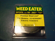 NEW WEED EATER 065 TRIMMER SPOOL FITS 509 807 1214 ELECTRIC TRIMMERS 952-701519