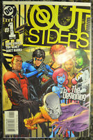 OUTSIDERS #1 (2003, DC Comics) New team lead by Nightwing NM+ (9.6-9.8)