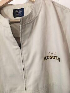 Callaway Golf Collection Khaki 1/2 Zip Windbreaker Jacket Shirt Sz XL