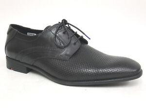 LLOYD Herrenschuhe DARION schwarz Gr. 46 (UK 11) Echtleder Business-Schuhe Derby