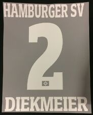 HSV Hamburger SV DIEKMEIER Player Flock 25 cm fürs adidas Away Trikot 2016-2017