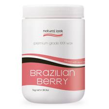 Natural Look Professional Brazilian Berry Depilatory Wax (soft) 1KG Hygienic