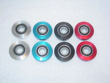 NEW American Bottom Bracket Cups w/ Bearings Cook Bros Bullseye Profile Red Line
