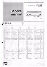 Philips Service Manual für  22 RH 520