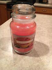 Yankee Candle Juicy Sparkling Grapefruit 22 oz NEW! Label error please read!!!!!