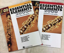 Essential Elements 2000 Oboe Book's 1 & 2- New