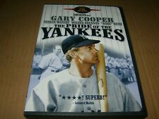 The Pride Of The Yankees Starring Gary Cooper DVD, 2002, Used.