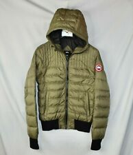 New Canada Goose Down Jacket Green Cabri Hoodie Jacket Men's Small S Slim