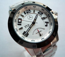 Mercedes Benz Amg Motorsport Racing Sport Línea Doble Hora GMT Reloj de  accesorios de coche fab90f8307be