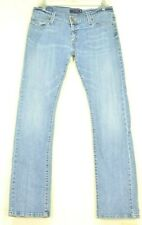 Levi 504 jeans 9 x 32 tilted slouch straight leg stretch
