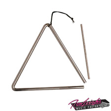 "Mano Percussion EM306 6"" Triangle with Beater and Holder"