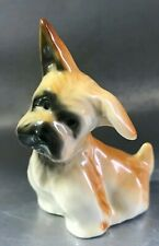 Scottish Terrier porcelain little dog figurine