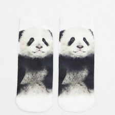 3d Printed Casual Animal Women Unisex Simple Low Cut Ankle Breathable Socks Gift Panda