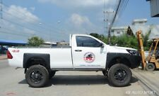 Black Fender Flares Wheel Arch With Nuts Hammer Toyota Hilux Revo 2Dr 2015 2017
