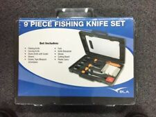 FISHING SET 9 PIECE FISHING KNIFE SET