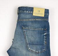 Scotch & Soda Herren Phaidon Slim Gerades Bein Jeans Größe W32 L34 ATZ716
