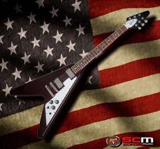 GIBSON USA 2018 Flying V Electric Guitar Aged Cherry Plek'd Setup Hard Case