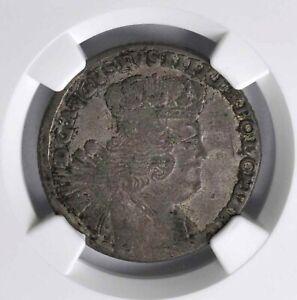 Poland Friedrich August II 1756-EC 18 Groszy Large Bust NGC VF 30