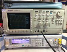 Tektronix Tds 820 Oscilloscope 6ghz Excellent Condition Passes Self Test Amp Spc