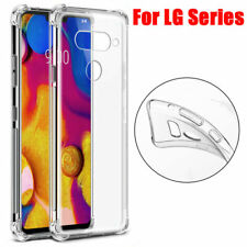 For LG G8 K50S Stylo 5 Phone Case Clear Shockproof Hybrid TPU Slim Bumper Cover