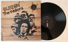 Bob Marley & The Wailers - Burnin' - 1973 Album ILPS 9256 VG++ Ultrasonic Clean