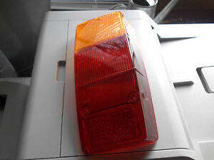 Austin Mini Innocenti Rear Light Glass Cap Cover Rear Tailgate Light El 4 R