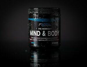 FOCAL NUTRITION PRE-WORKOUT: Mind & Body *Pharmaceutical Grade* *Flavoured*