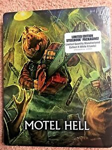 Blu Ray - Steelbook - Motel Hell - Limited Edition - Brand New & Sealed