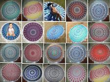 20 Pcs Wholesale Lot Indian Mandala Round Roundie Beach Throw Mandala Tapestry