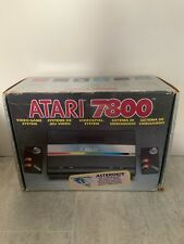 Atari 7800 Game Console With Box Manuals Built In Asteroids Game PAL