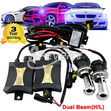 55W HID Conversion Xenon Kit H4 H13 9004 5000K 6000K Hi-Lo Bi-Xenon Headlight