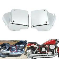 Battery Side Cover Metal for Honda Shadow Spirit VT750DC 00-09 Black Widow 00-07