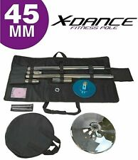 X-Dance (TM) 45 mm Professional Exotic Fitness Removable Pole Dance-PRE ORDER