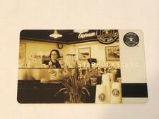 Rare NEW Starbucks Card 2006 Pike Place Barista Limited Edition Old Logo