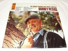 """Barney Peters """"World Famous and Justly Popular"""" 1967 Folk LP, SEALED!, Original"""