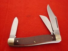 "Vintage Sears Craftsman USA Made 4"" 95419 3 blade Stockman stock Knife MINT"