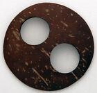 Sarong Tie, Coconut Shell - Circle