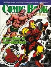 COMIC BOOK MARKETPLACE 72 November 1999 - SUB-MARINER, IRON MAN, HUMAN TORCH